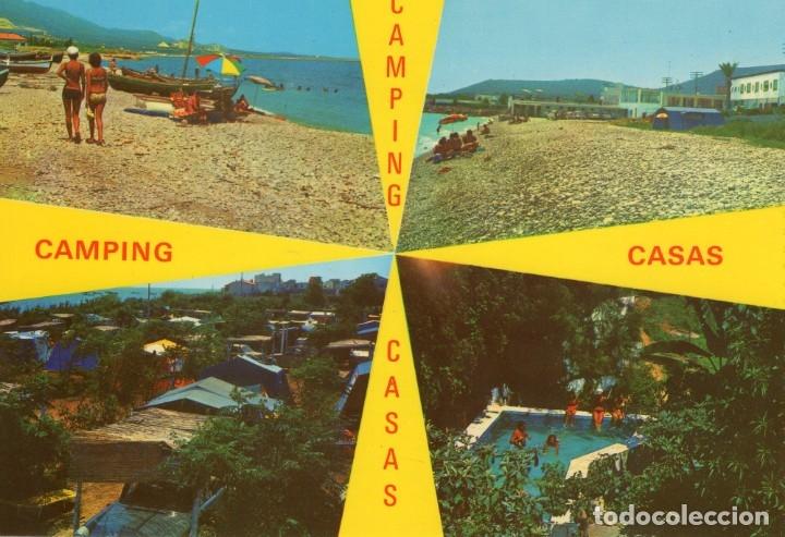 ALCANAR - PLAYA (TARRAGONA) -CAMPING CASAS- (CASTELL Nº 914) SIN CIRCULAR / P-5749 (Postales - España - Cataluña Moderna (desde 1940))