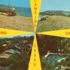 Postales: ALCANAR - PLAYA (TARRAGONA) -CAMPING CASAS- (CASTELL Nº 914) SIN CIRCULAR / P-5749. Lote 176354553