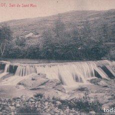 Postales: POSTAL OLOT - SALT DE SANT ROC - THOMAS 24 - 8893 - J ANTIGA. Lote 176363933