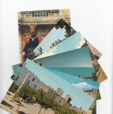 Postales: LOTE DE 7 POSTALS EN COLOR DE MONTBLANC - MONTBLANCH -TARRAGONA- LA MAYORIA AÑOS 60- VER FOTOS. Lote 176433844