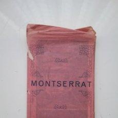 Postales: LOTE DE 22 POSTALES MONTSERRAT, SERIE 1 COLECCIÓN POSTALES FOTOTIPIA , BARCELONA.. Lote 176531773