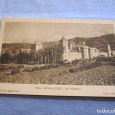 Postales: POSTAL DE MONASTERIO DE POBLET- TARRAGONA. Lote 176567227
