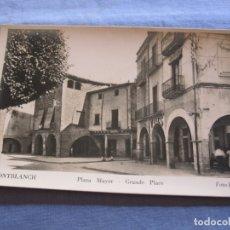 Postales: POSTAL DE MONTBLANCH- TARRAGONA. Lote 176567375