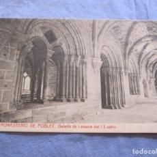 Postales: POSTAL DE MONASTERIO DE POBLET - TARRAGONA. Lote 176569878