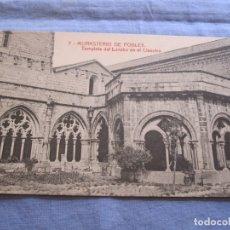 Postales: POSTAL DE MONASTERIO DE POBLET - TARRAGONA. Lote 176569964