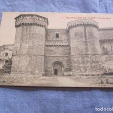 Postales: POSTAL DE MONASTERIO DE POBLET - TARRAGONA. Lote 176570187