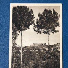 Postales: ANTIGUA BARCELONA MONTSERRAT SANTA CECILIA DES DE LA DEL MORO HUECOGRABADO MUMBRU EXCELENTE. Lote 176581330