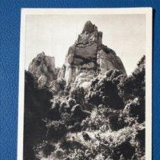 Postales: ANTIGUA BARCELONA CIM DE SANT JERONI MONSERRAT SAN JERONIMO HUECOGRABADO MUMBRU EXCELENTE. Lote 176582950