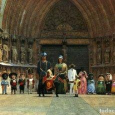 Postales: TARRAGONA - COMPARSA DE GIGANTES Y CABEZUDOS. Lote 176629708