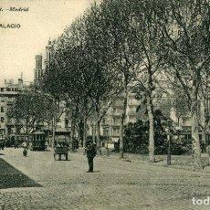 Postales: BARCELONA - PLAZA PALACIO. Lote 176743285