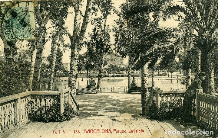 BARCELONA - PARQUE (Postales - España - Cataluña Antigua (hasta 1939))