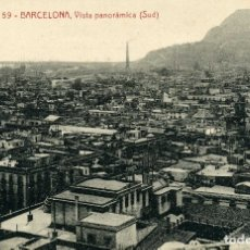 Postales: BARCELONA - VISTA PANORAMICA. Lote 176751810