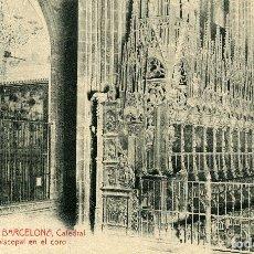 Postales: BARCELONA - CATEDRAL. Lote 176756660