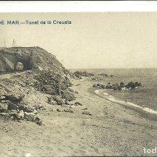 Postales: (PS-61730)POSTAL FOTOGRAFICA DE CANET DE MAR-TUNEL DE LA CREUETA. Lote 176763352