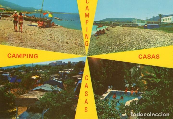 ALCANAR -PLAYA (TARRAGONA) -CAMPING CASAS- (CASTELL IMPRENTA Nº 914) SIN CIRCULAR / P-5911 (Postales - España - Cataluña Moderna (desde 1940))