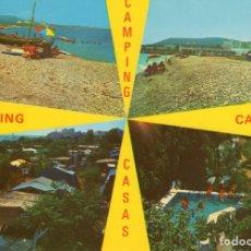 Postales: ALCANAR -PLAYA (TARRAGONA) -CAMPING CASAS- (CASTELL IMPRENTA Nº 914) SIN CIRCULAR / P-5911. Lote 176830705