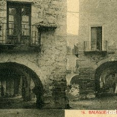 Postales: BALAGUER - PLAZA DEL POZO. Lote 176908669