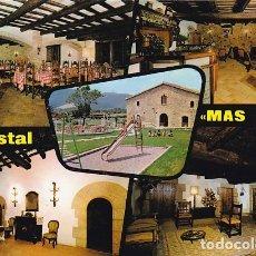 Postales: GIRONA SANTA COLOMA DE FARNERS HOSTAL MAS SOLA ED. FITER Nº 1981 AÑO 1972 . Lote 176925929