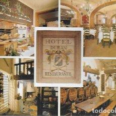 Postales: POSTAL * FIGUERES ,HOTEL DURÀN * 1978. Lote 176934102