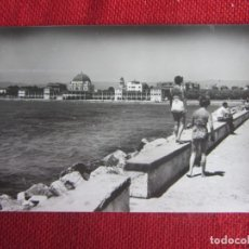 Postales: SALOU PLAYA HOTEL BALNEARIO LA TERRAZA 1959. Lote 177755020