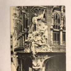 Postales: BARCELONA. POSTAL NO.92, ORFEÓN. GRUPO ALEGORICO. EDITA: FOTOTIPIA MISSE HNOS (H.1910?). Lote 177758332