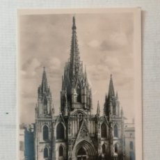 Postales: POSTAL DE LA CATEDRAL DE BARCELONA.. Lote 177843050