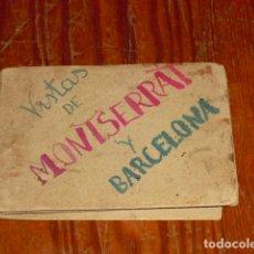 Postales: 18 POSTALES DE BARCELONA Y MONTSERRAT .AÑOS 20. Lote 177941825