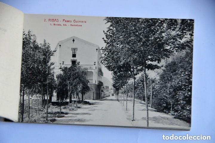 Postales: antiguo libro de postales Record de Ribas 10 postales completo - Foto 2 - 177947075