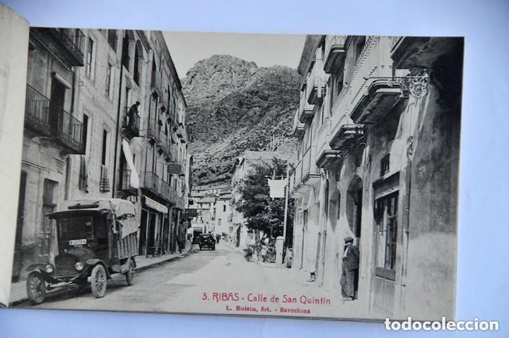 Postales: antiguo libro de postales Record de Ribas 10 postales completo - Foto 3 - 177947075