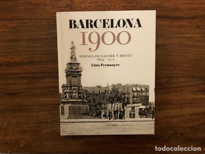 BARCELONA 1900. POSTALS DE HAUSER Y MENET. 1894-1905. LLUIS PERMANYER. EFADÓS (Postales - España - Cataluña Antigua (hasta 1939))