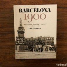 Postales: BARCELONA 1900. POSTALS DE HAUSER Y MENET. 1894-1905. LLUIS PERMANYER. EFADÓS. Lote 177963763