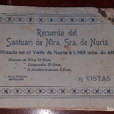 Postales: 22 POSTALES DE SANTUARI DE NUESTRA SEÑORA DE NURIA. Lote 177985902
