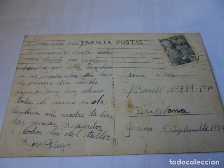 Postales: magnifica antigua postal gerona gran via jaime I - Foto 2 - 178022283