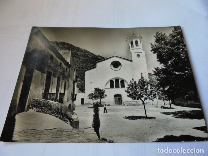 MAGNIFICA ANTIGUA POSTAL SELVA DE MAR,IGLESIA PARROQUIAL (Postales - España - Cataluña Moderna (desde 1940))