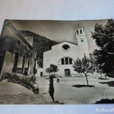 Postales: MAGNIFICA ANTIGUA POSTAL SELVA DE MAR,IGLESIA PARROQUIAL. Lote 178022628