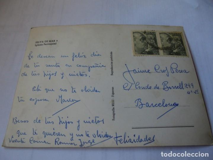 Postales: magnifica antigua postal selva de mar,iglesia parroquial - Foto 2 - 178022628