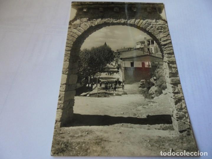 MAGNIFICA ANTIGUA POSTAL GELIDA,CALLE DEL SOL (Postales - España - Cataluña Moderna (desde 1940))