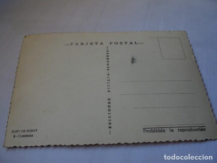 Postales: magnifica postal antigua pont de suert comtessa - Foto 2 - 178025123
