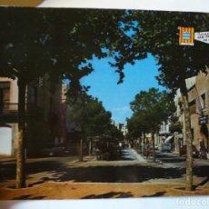 Postales: MAGNIFICA POSTAL ANTIGUA SAN FELIU DE GUIXOLS RAMBLA DE ANTONIO VIDAL. Lote 178025253