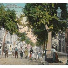 Postales: IGUALADA - RAMBLA SANT ISIDRE - P29497. Lote 178033028