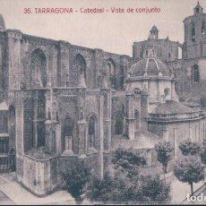 Postales: POSTAL TARRAGONA - CATEDRAL - VISTA DE CONJUNTO - ROISIN 36. Lote 178098653