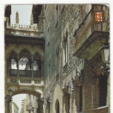 Postales: 5038 - BARCELONA .- BARRIO GÓTICO. CALLE DEL OBISPO. Lote 178111519