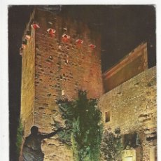 Postales: TARRAGONA - 20 .- TORRE DEL OBISPO. NOCTURNO. Lote 178112817
