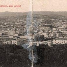 Postales: SAN FELIU DE GUIXOLS. ATV 3042 VISTA GENERAL. POSTAL DOBLE. Lote 178281263
