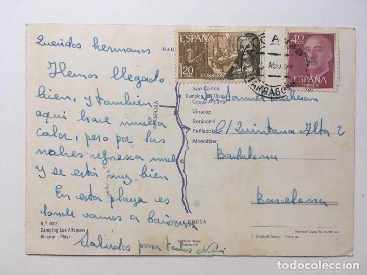 Postales: Alcanar Postal Camping Los Alfaques Alfacs - Foto 2 - 178286280
