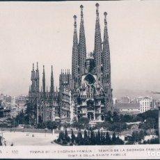 Postales: POSTAL BARCELONA TEMPLO DE LA SAGRADA FAMILIA Nº 132 1939 ED. ORIOL . Lote 178333238