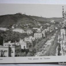 Postales: POSTAL BARCELONA TIBIDABO GENERAL ..CM. Lote 178388955