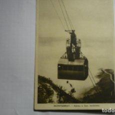 Postales: POSTAL MONTSERRAT - AEREO S.JERONIMO CM. Lote 178389048