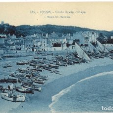 Postales: COLECCION DE 22 ANTIGUAS POSTALES DE LA COSTA BRAVA. PALAFRUGELL, SANT FELIU, TOSSA, ETC.. Lote 178672592
