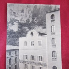 Postales: MONTSERRAT - GRAN CAFÉ - RESTAURANT. Lote 178687491